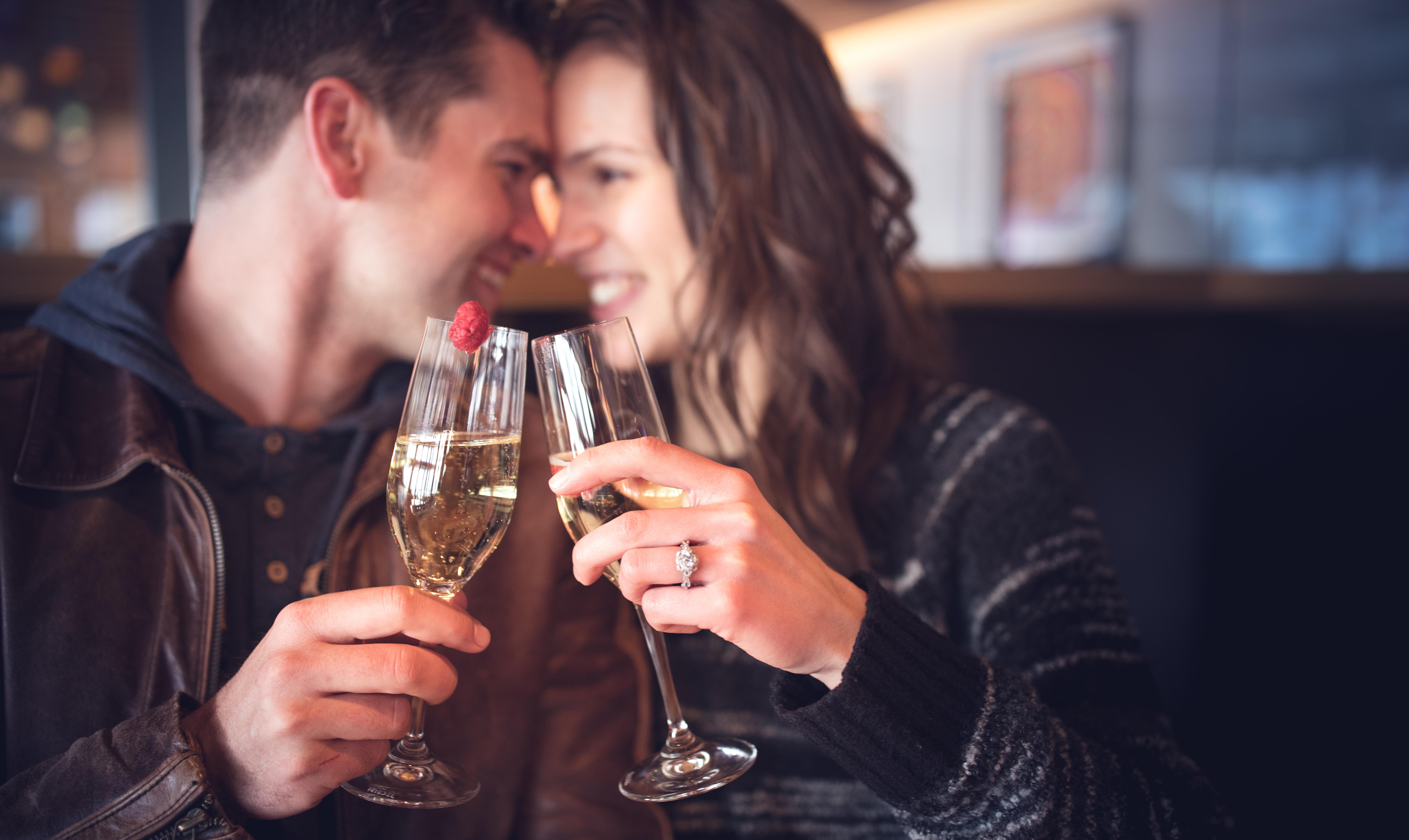 Champaign Engagement