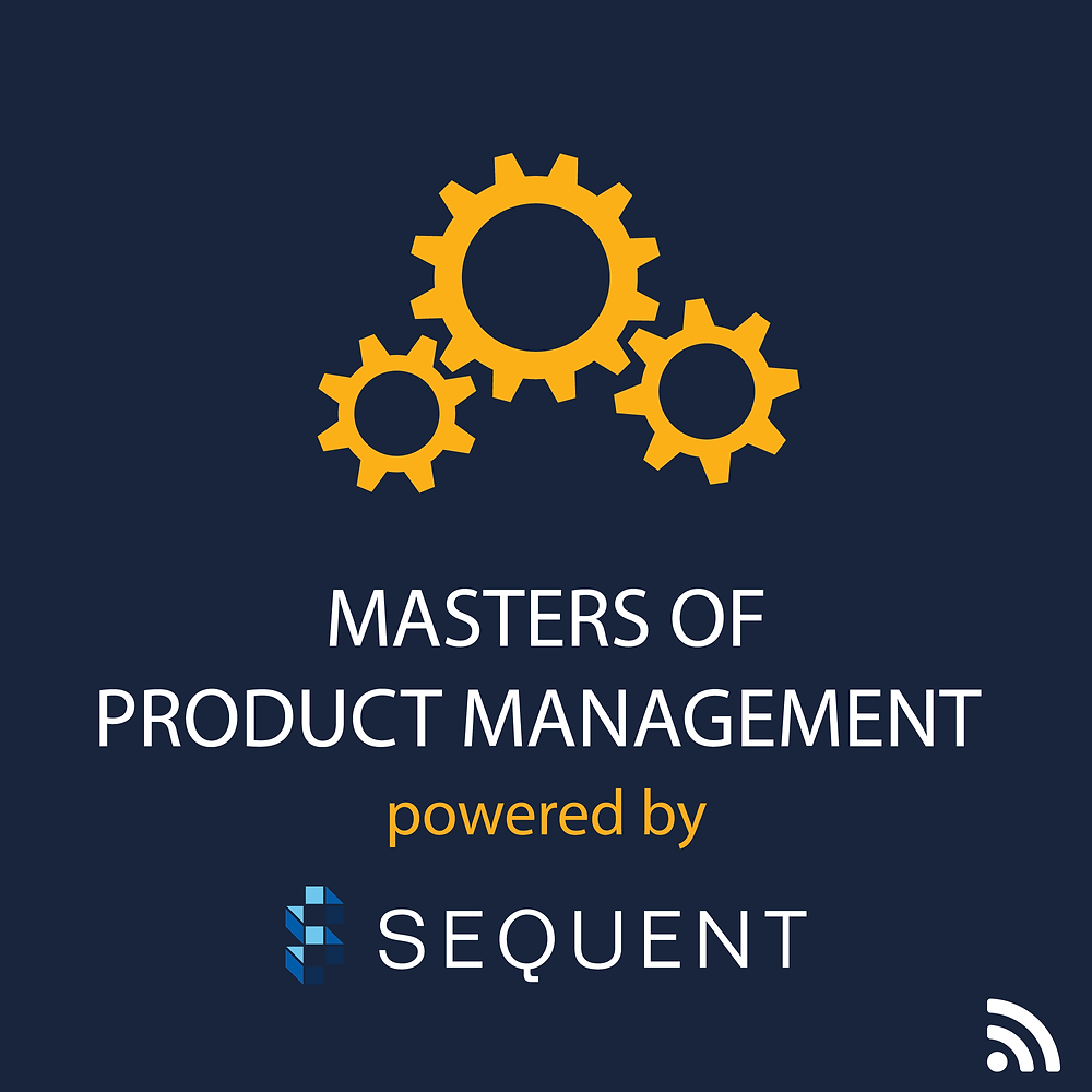 Logo for Masters of Product Management powered by Sequent