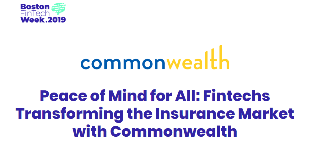 Common wealth logo. Peace of Mind for all: fin techs transforming the insurance market with commonweath