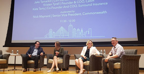 Kate Terry, COO and Co-founder of Surround Insurance, appears at Boston FinTech Week