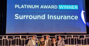 Surround Insurance wins Platinum Award at MassChallenge FinTech Finale