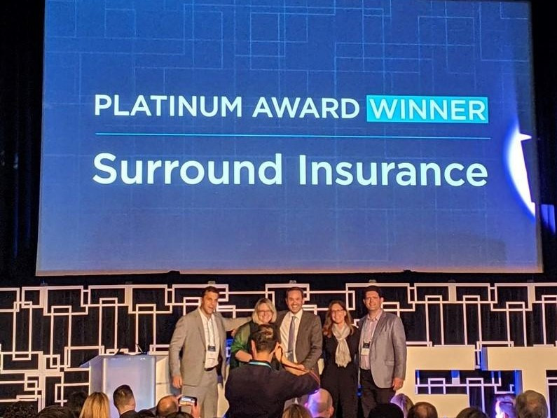 Jay Grayson and Kate Terry, the Co-founders of Surround Insurance