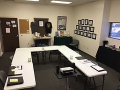 Concealed Permit Training Room