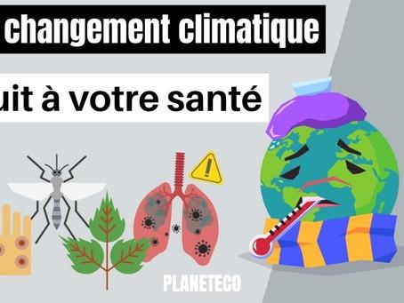 COMMENT LE CHANGEMENT CLIMATIQUE ET LA POLLUTION PROVOQUE DES MALADIES ?
