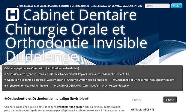 cabinet dentiste dudelange dr Tanson - L