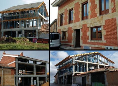 Projet nouvelle construction d'une maison bi-familiale Salamanca