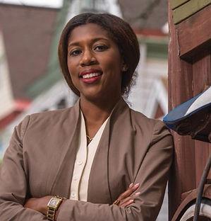 Councilwoman Marita Garrett in Council Chambers