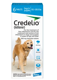 Credelio Chewable Tablet for Dogs (50.1 - 100 lbs)