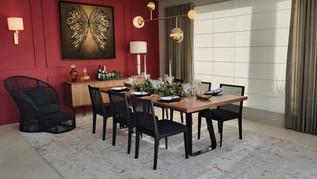 Sala de Jantar por Carol Ferro
