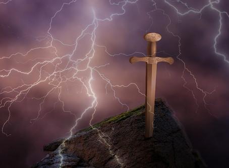 Les chevaliers de la Table ronde, Excalibur et la quête du Graal