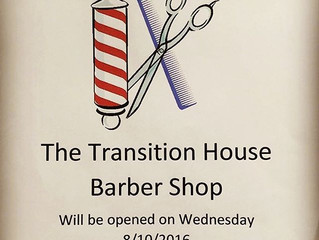 Shane-cuts Inspiration Barber Shop meets The Transition house!
