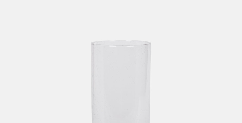 Clear Bubble Cylinder