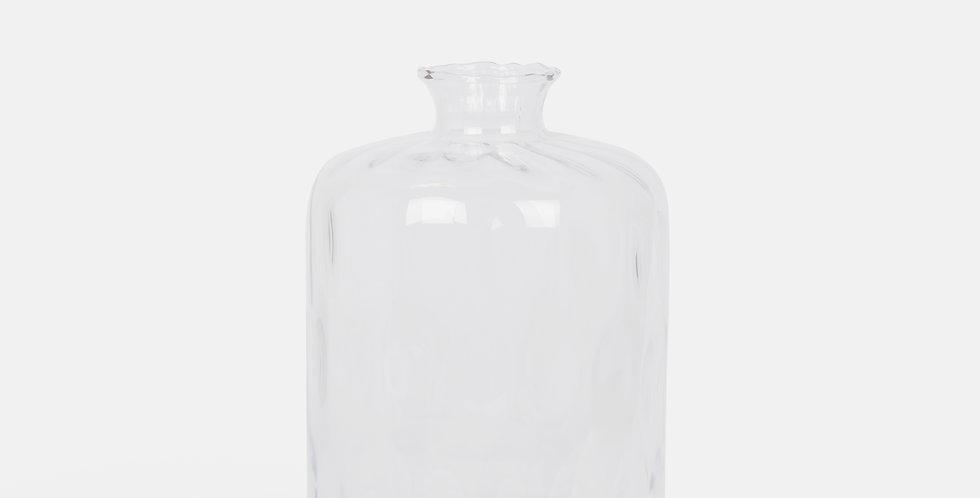 Clear Bubble Vase