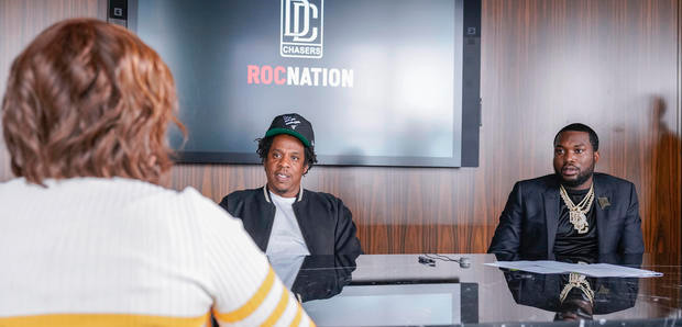 Jay-Z and Meek Mill join forces to launch Dream Chasers record label