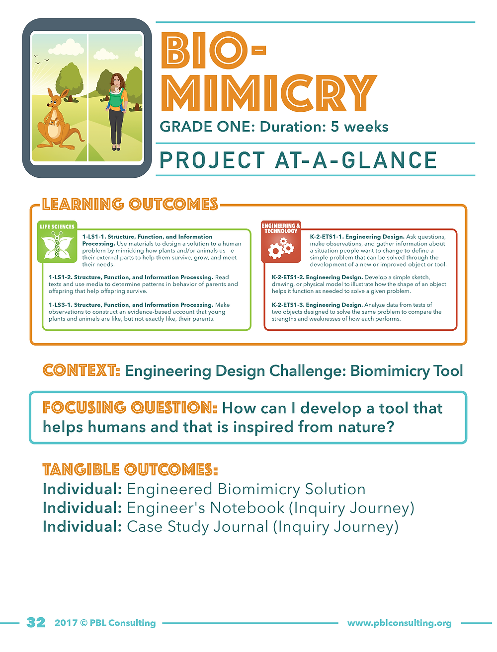 NGSS PBL biomimicry