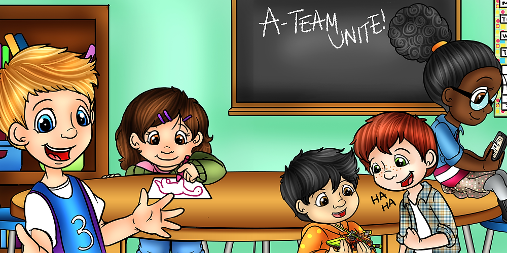 social learning, social emotional learning, SEL, a-team, friendship group, autism