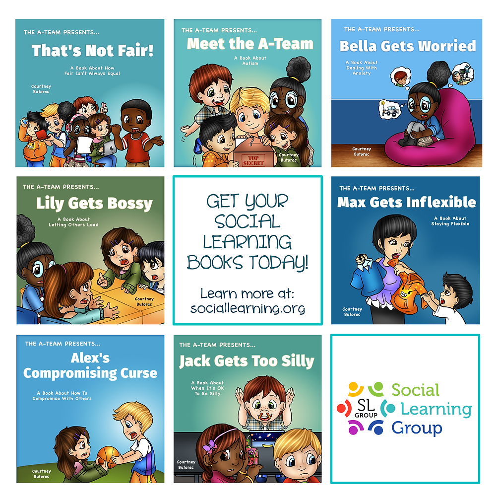 social emotional learning, social learning, a-team, autism, asd