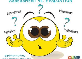 Assessment Versus Evaluation