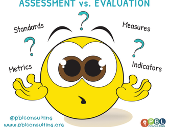 Assessment Versus Evaluation