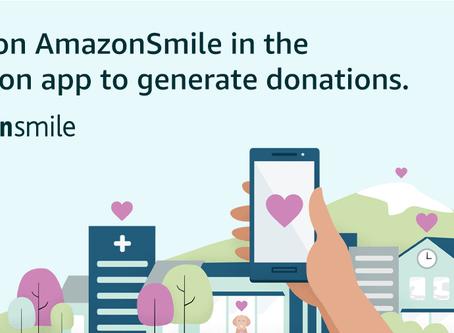 Amazon Smile Now on Mobile