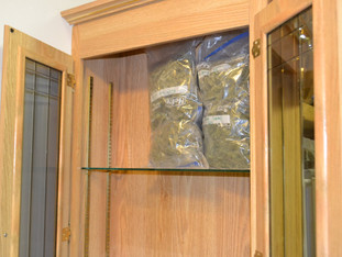 ILLEGAL MARIJUANA GROW AND BUTANE HASH OIL LAB TAKEN DOWN