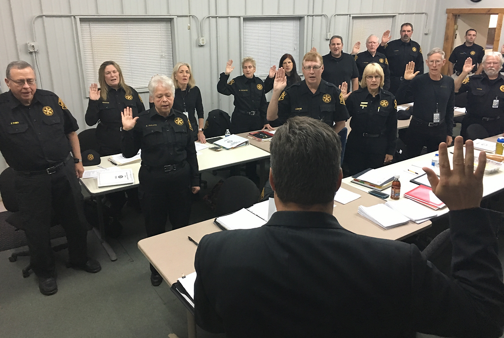 TCSO Sheriff's Posse swear in ceremony