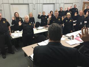 Sheriff's Posse members get sworn in