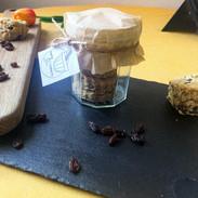spelt and buckwheat fruit scones.