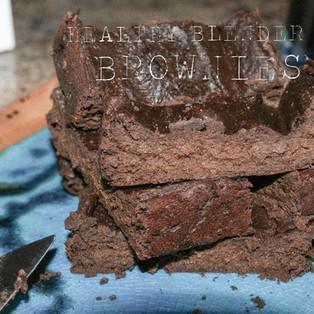 sweet potato blender brownies.