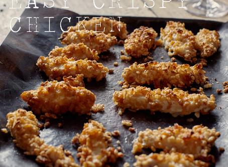 crispy baked chicken.