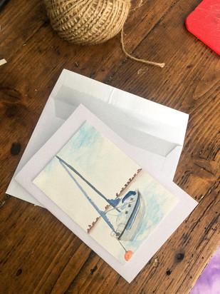 emsworth harbour mooring card.
