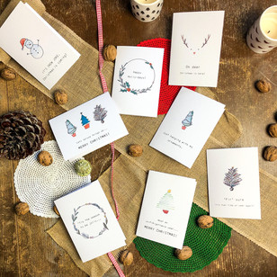 cheesy Christmas cards