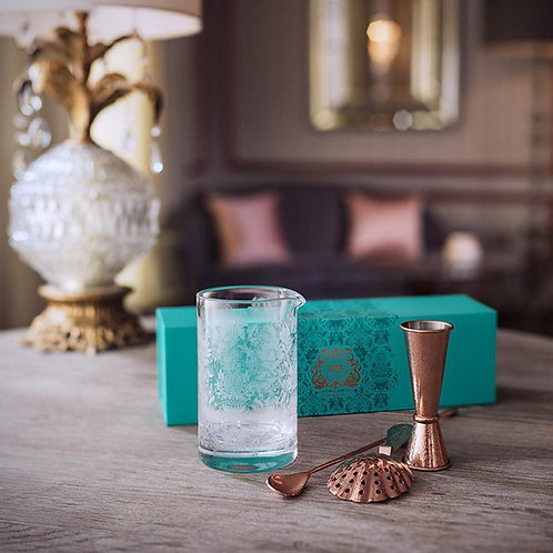 ELYX COPPER MARTINI GIFT SET