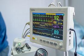 multiparameter monitor ECG