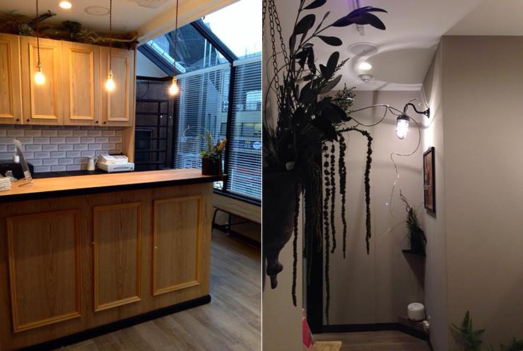 SHAMBALLA-INTERIOR(シャンバラ) インテリアコーディネート  エステサロン・マッサージサロン・美容室・ネイルサロン・カフェなどの内装施工実例です