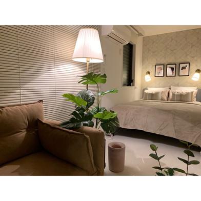 六本木・外国人専用のマンスリーマンションの内装コーディネートを担当