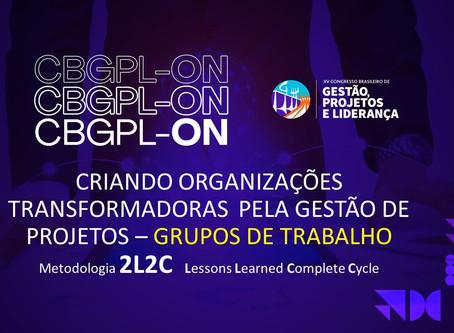 Workshop Congresso Brasileiro de Gestão de Projetos e Liderança - CBGPL 2020