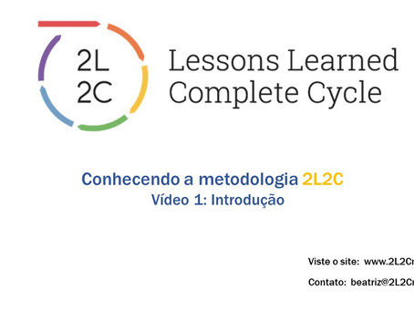 Conhecendo a Metodologia 2L2C - Vídeo 1