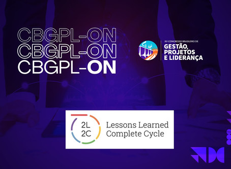 Congresso Brasileiro de Gestão de Projetos e Liderança CBGPL -2020. Pesquisa sobre Lições Aprendidas