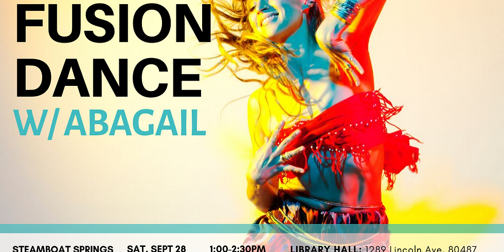 BOULDER Afro Fusion Dance Workshop