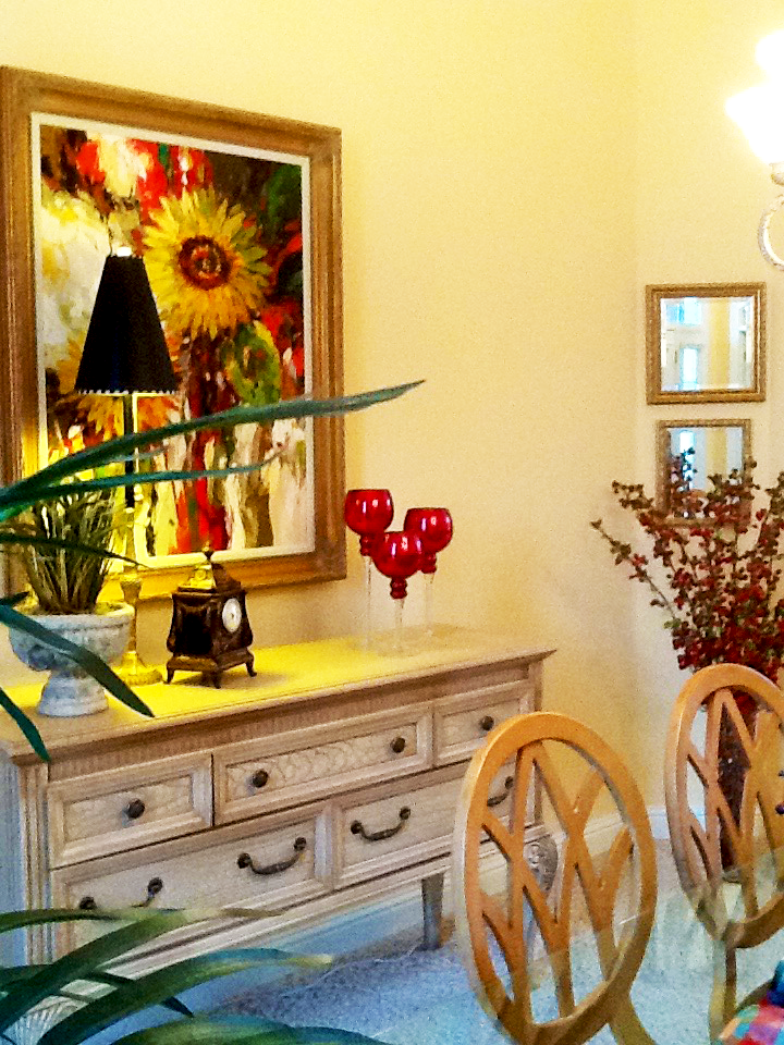 French Country Vignette