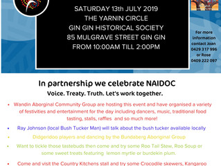 Gin Gin NAIDOC celebrations