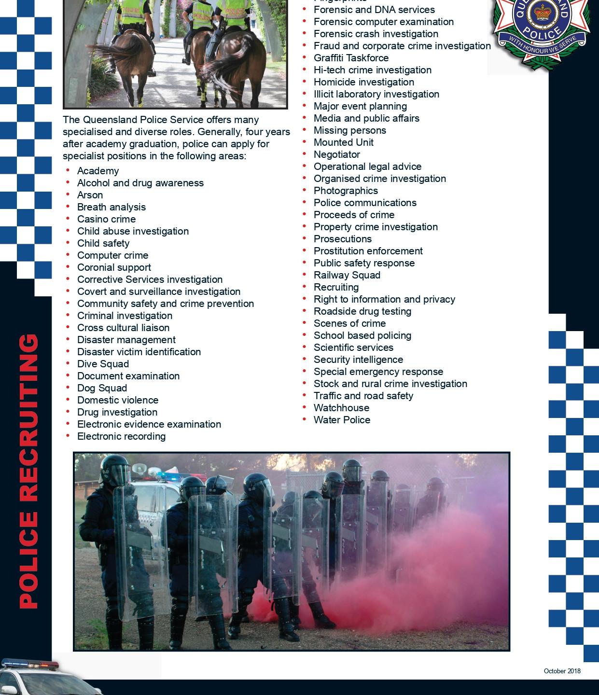 General Duties & Specialist Flyer - Octo