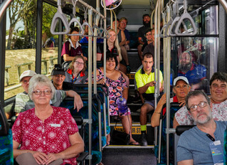 Learning bus routes at Try Before u Ride
