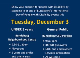 International Day of People with Disability - Bundaberg