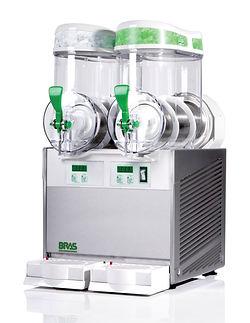 Επαγγελματική γρανιτομηχανή BRAS Quark με κάδους 6 λίτρων