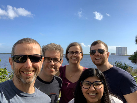 Lab outing to the Kennedy Space Centre!