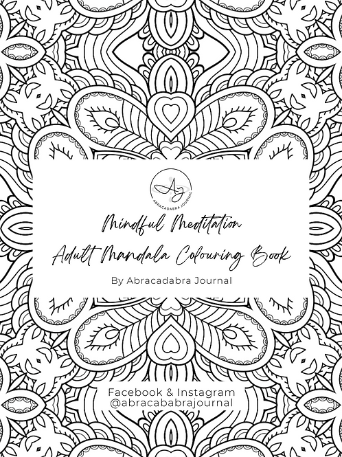 PDF Meditation Coloring Pages