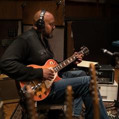 Tariqh Les Paul Studio Man at Work.jpg