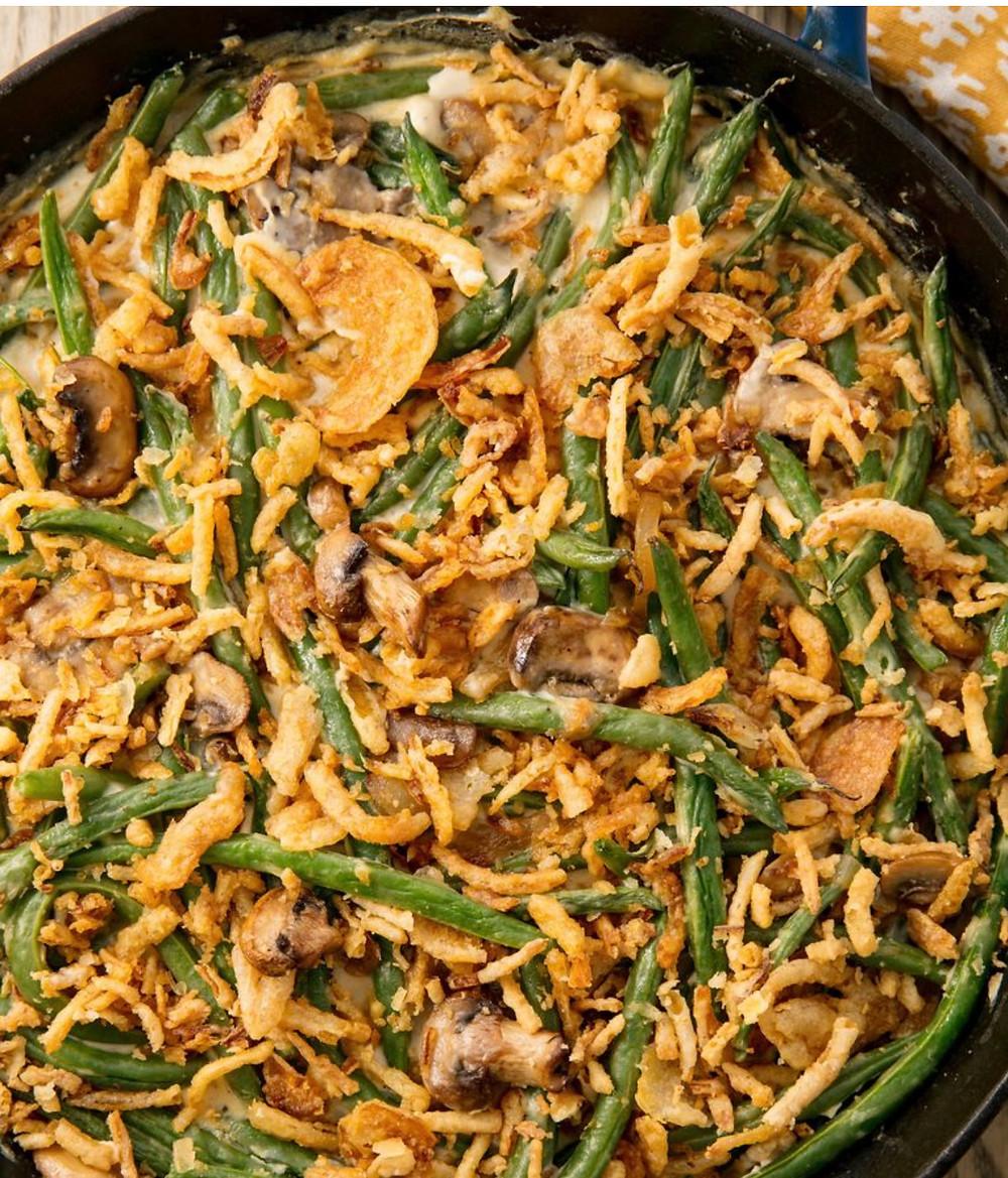 Rosetta's Farm Green Bean + Mushroom Casserole  Recipe